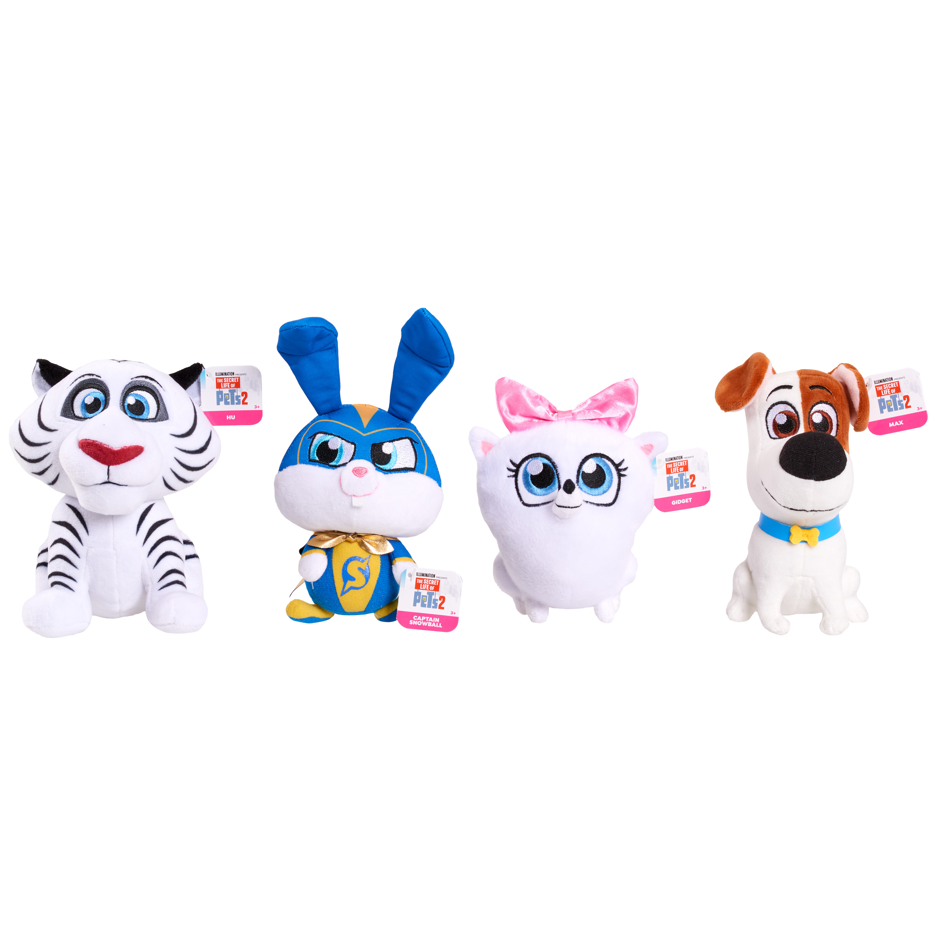 The Secret Life of Pets Plush Toys Just $1.25 Each at Walmart!