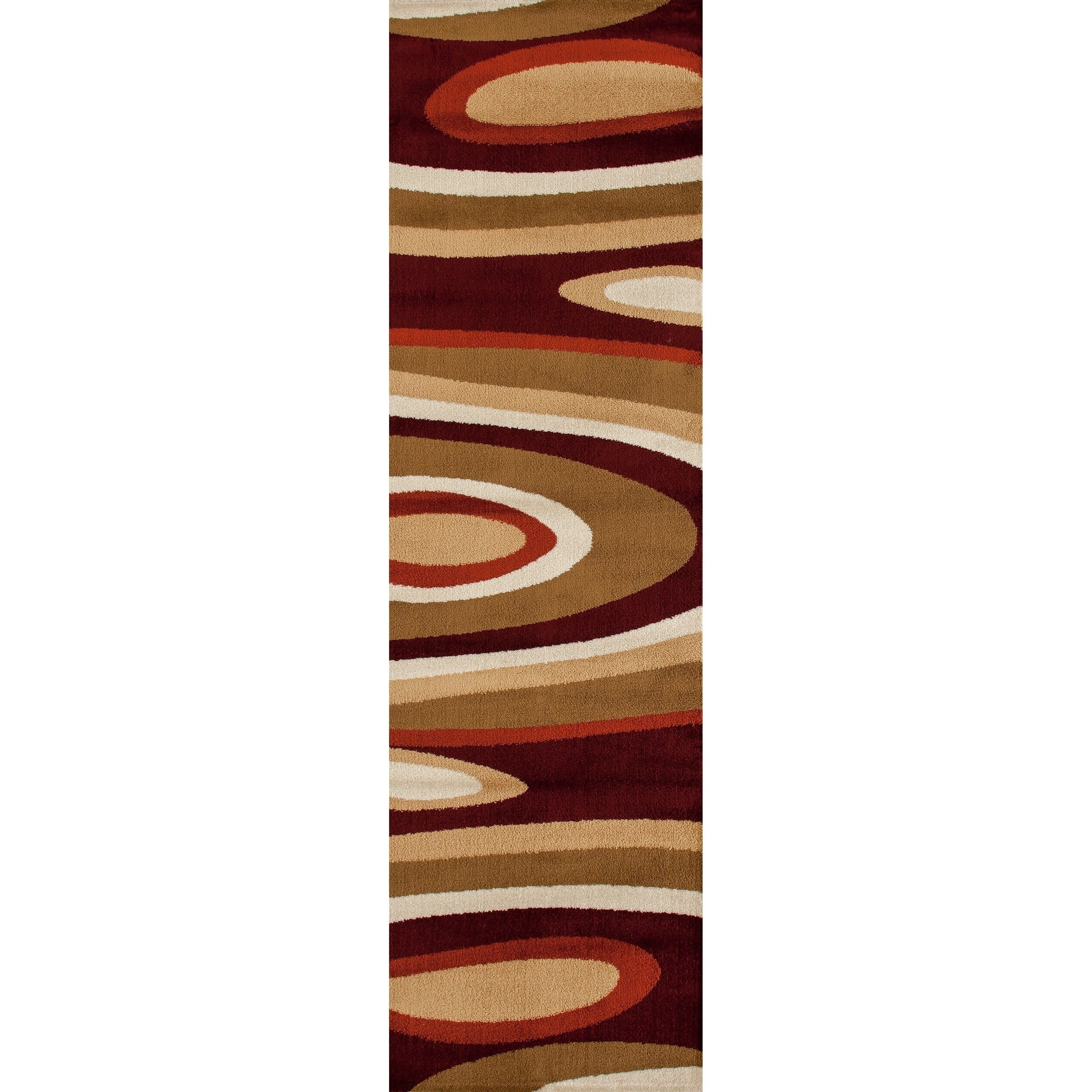 World Rug Gallery Abstract Contemporary Modern Gray 2' x 3' Indoor Area Rug