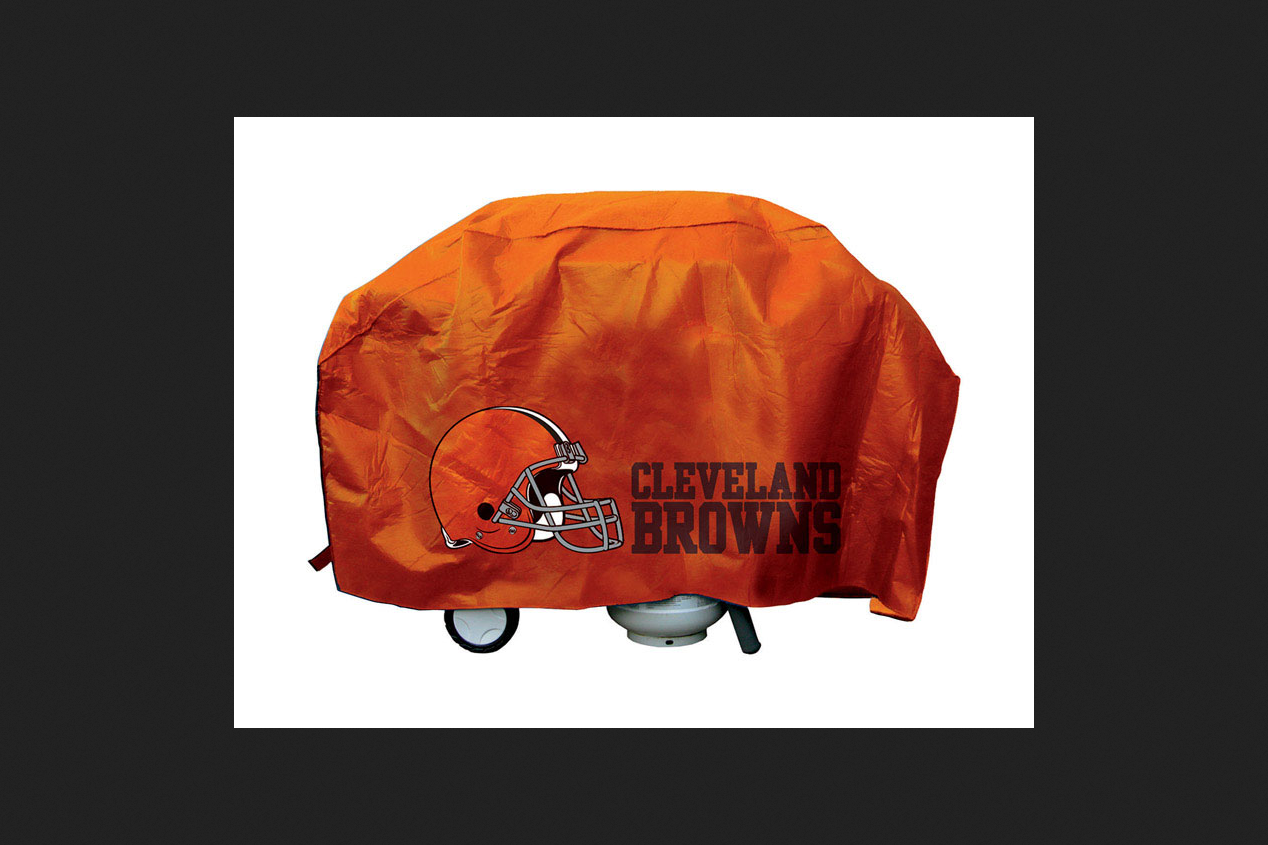 Cleveland Browns Deluxe Grill Cover by Grill Covers