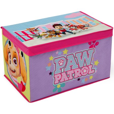 Nick Jr. PAW Patrol - Skye and Everest - Fabric Toy Box by Delta Children