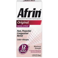 Afrin Nasal Spray, Original 15 mL (Pack of 3)