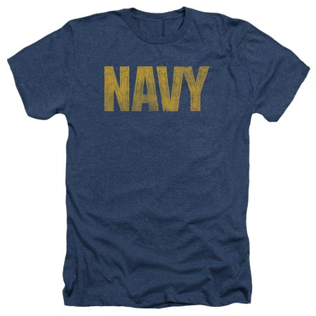 Navy Mens Lacrosse Arch (US Navy Logo Mens Heather Shirt)