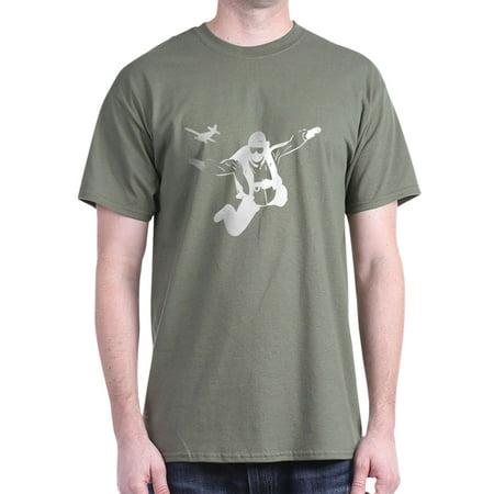 bb6680ad2 CafePress - Skydiving - 100% Cotton T-Shirt - Walmart.com