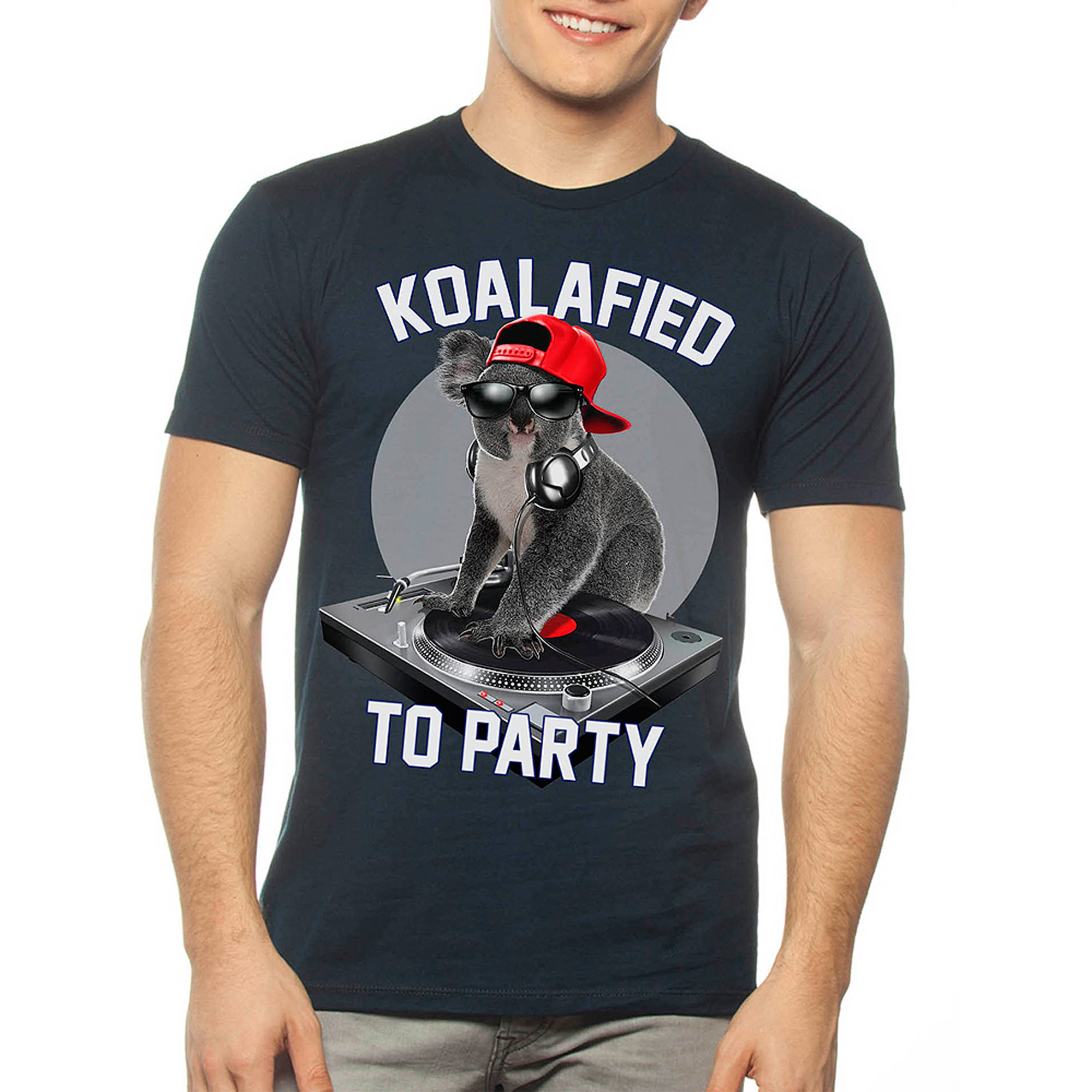 Koalified To Party Men's Graphic Tee