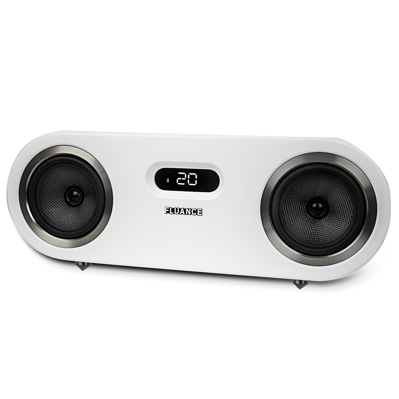 Fluance Fi50 Two-Way High Performance Wireless Bluetooth Premium Wood Speaker System with aptX Enhanced Audio (Lucky Bamboo) - image 8 de 11