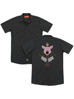 American Horror Story - Pig Cleavers (Back Print) - Work Shirt - XXX-Large