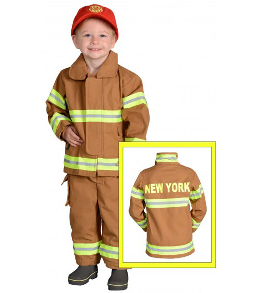 Jr. Firefighter Suit Size 18M New YORK by Aeromax