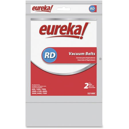 Eureka Vacuum Replacement Belt, 2 Count 001 Replacement Vacuum Belt