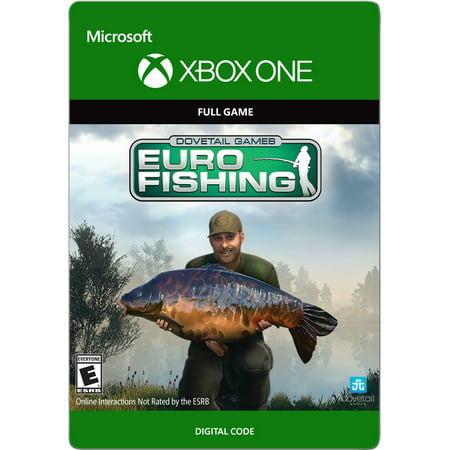 Xbox one dovetail games euro fishing email delivery for Xbox one fishing games