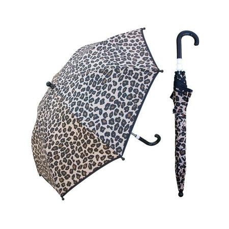 kid's animal print umbrella, 34-inch