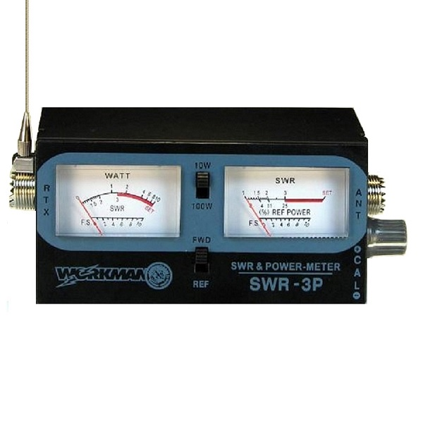WORKMAN SWR-3P CB RADIO ANTENNA SWR / TEST METER