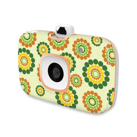 Skin For HP Sprocket 2-in-1 Photo Printer - Hippie Flowers   MightySkins Protective, Durable, and Unique Vinyl Decal wrap cover   Easy To Apply, Remove, and Change Styles   Made - Hippie Photo