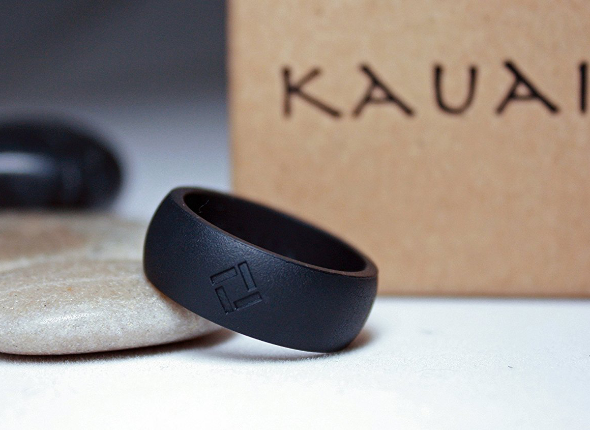 Pro-Athletic Ring /& Kauai Elegance Rings Collection Leading Brand Silicone Wedding Ring for Women from The Latest Artist Design Innovations to Leading-Edge Comfort KAUAI