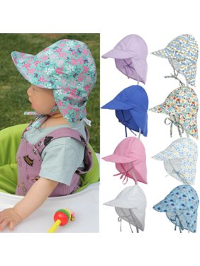 Toddler Baby Boy Girl Sun Hat Brim Summer Hats Beach Headwear Outdoor S/L