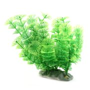 Aquarium Plastic Artificial Underwater Plant Grass Ornament 7.1 Inch Height
