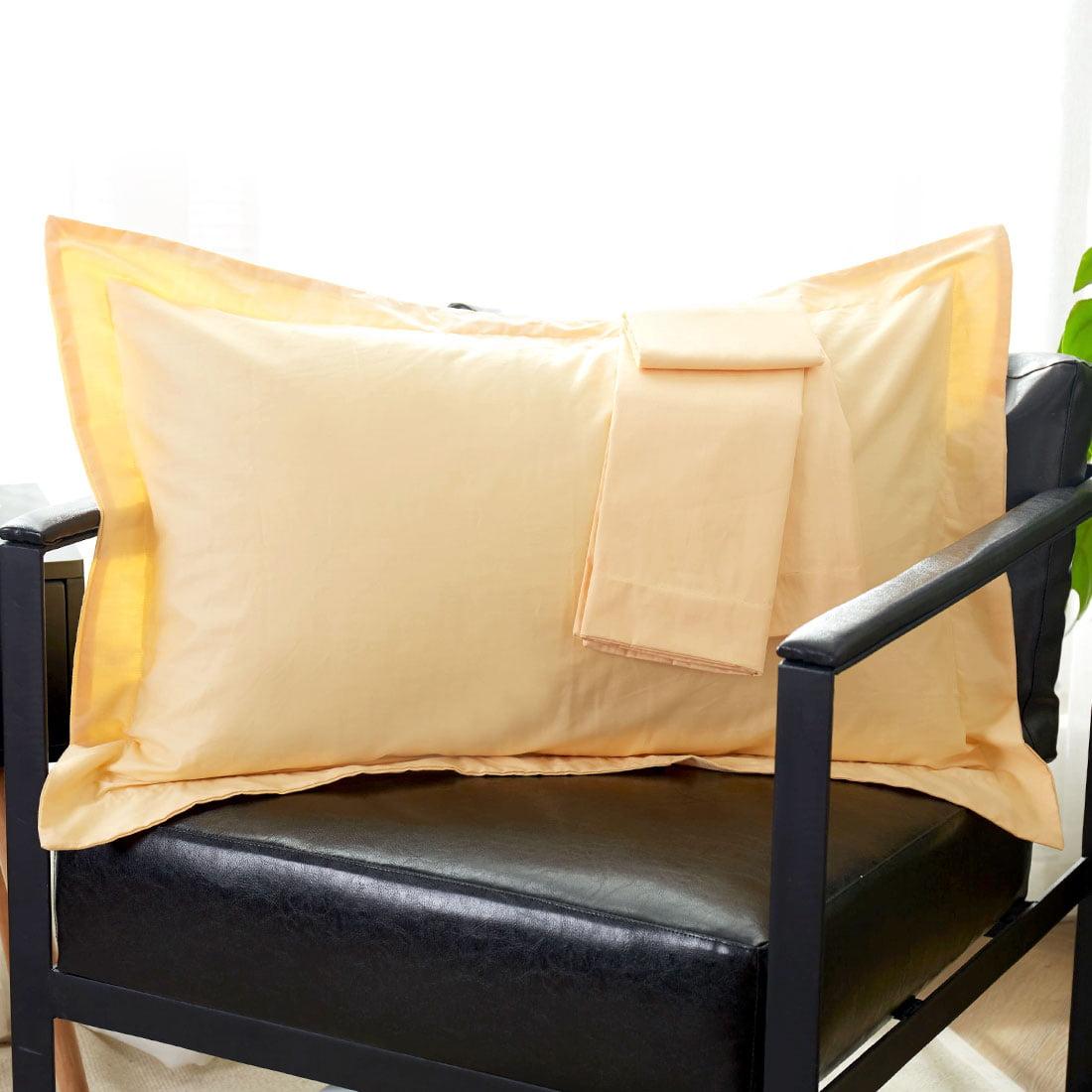 Pillow Shams Oxford Pillow Cases Pillowcase 300 TC Egyptian Cotton Set of 2,Queen,King,Standard