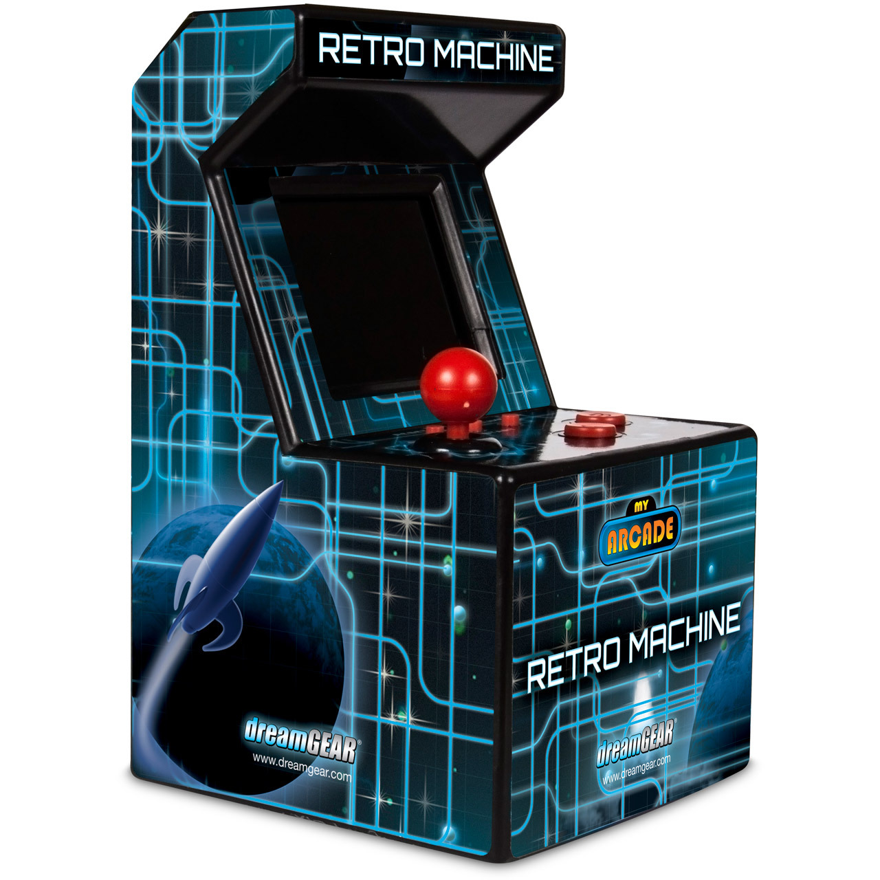 Retro Machine, dreamGEAR My Arcade, Retro Gaming, 845620025770