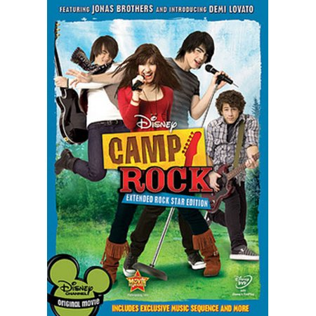 Camp Rock (DVD) (Movies Rock Piano)