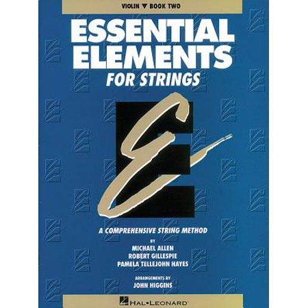 Book 2 Violin - Essential Elements for Strings - Book 2 (Original Series) : Violin