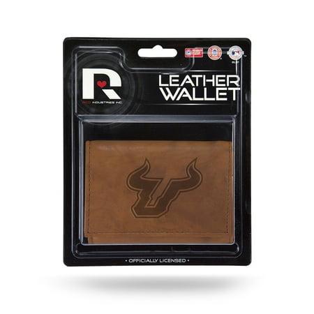 South Florida Bulls NCAA Manmade Leather Tri-Fold