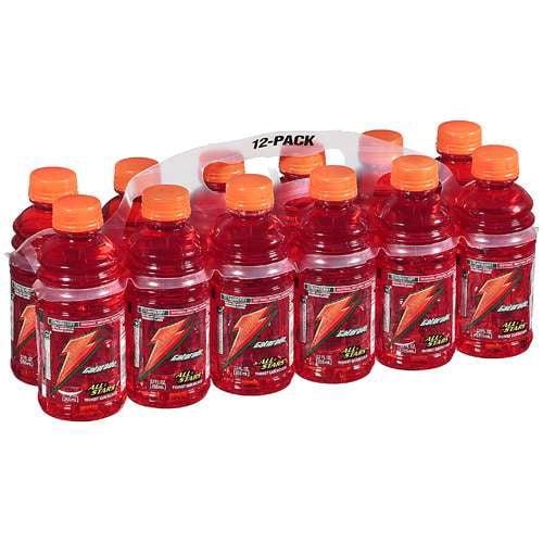 Gatorade Strawberry Sports Drink, 12 Pk