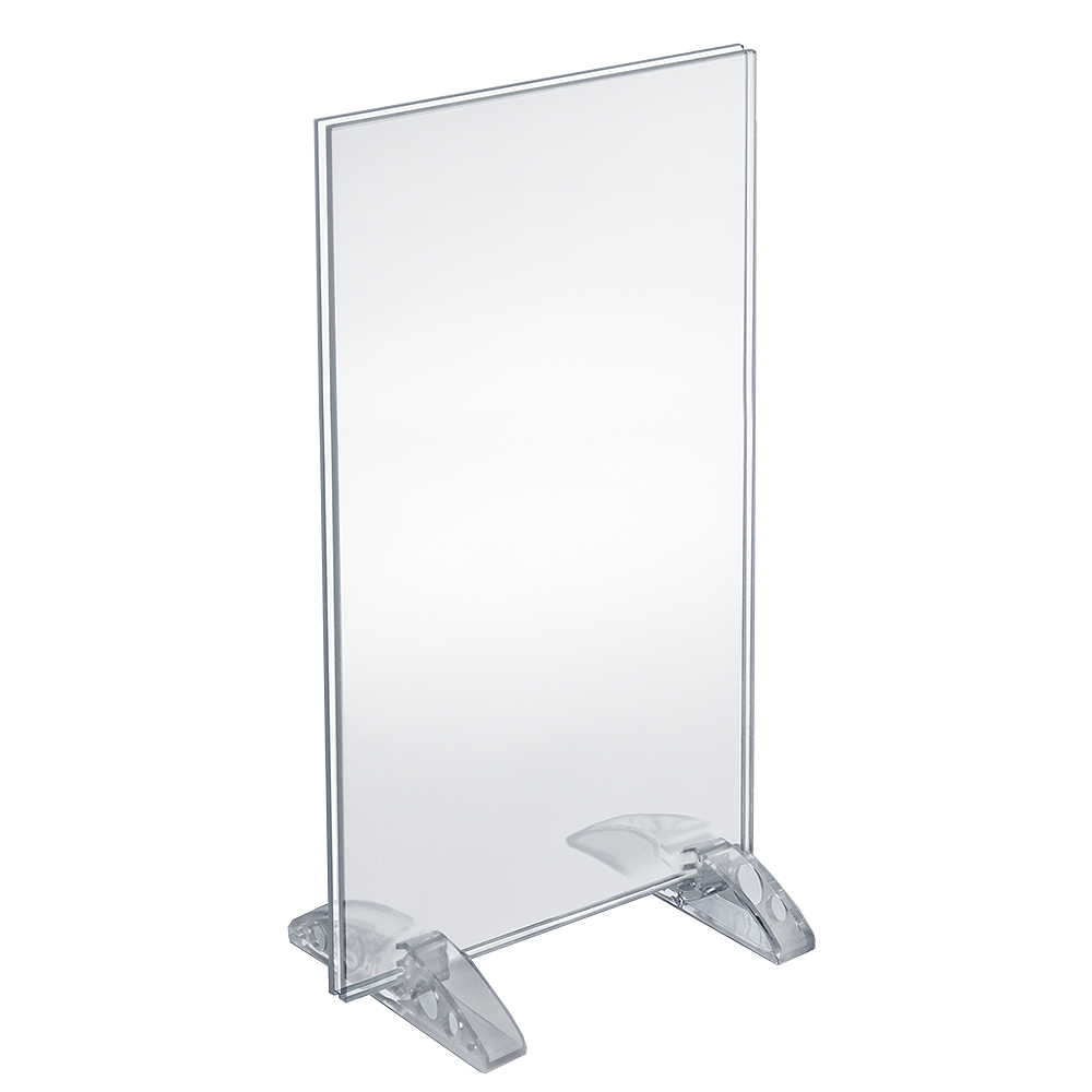 """Azar 132706 8.5"""" x 14"""" Dual-Stand Acrylic Sign Holder, 10Pack by Supplier Generic"""