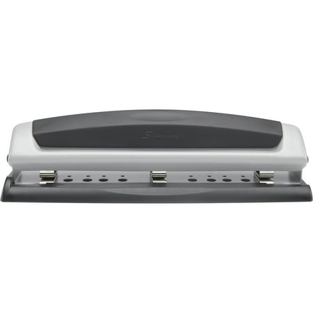 Swingline Precision Pro Desktop Punch, 2-3 Holes, 10 Sheets - Touch 3 Hole Punches