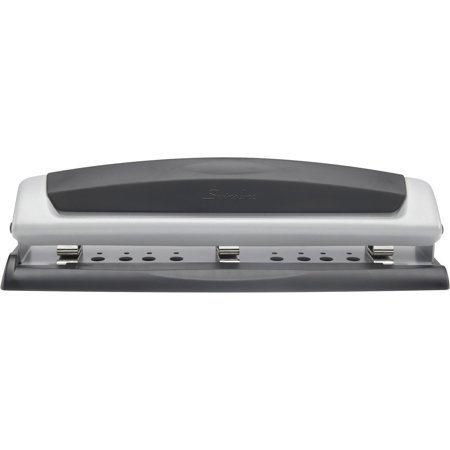 Swingline Precision Pro Desktop Punch, 2-3 Holes, 10 Sheets - 1 Circle Punch