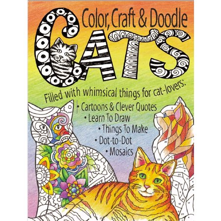 Color Craft & Doodle Cats (Halloween Arts And Crafts Black Cat)