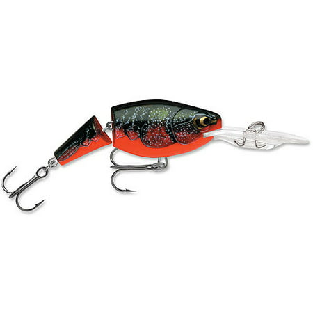 Rapala Jointed Shad Rap 04 Fishing Lure - Red Crawdad - Joint Rap Lure