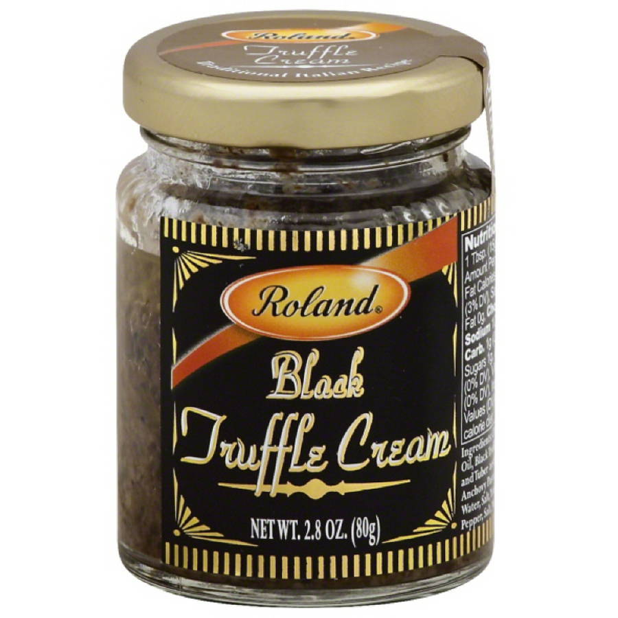 Roland Black Truffle Cream, 2.8 oz, (Pack of 12)