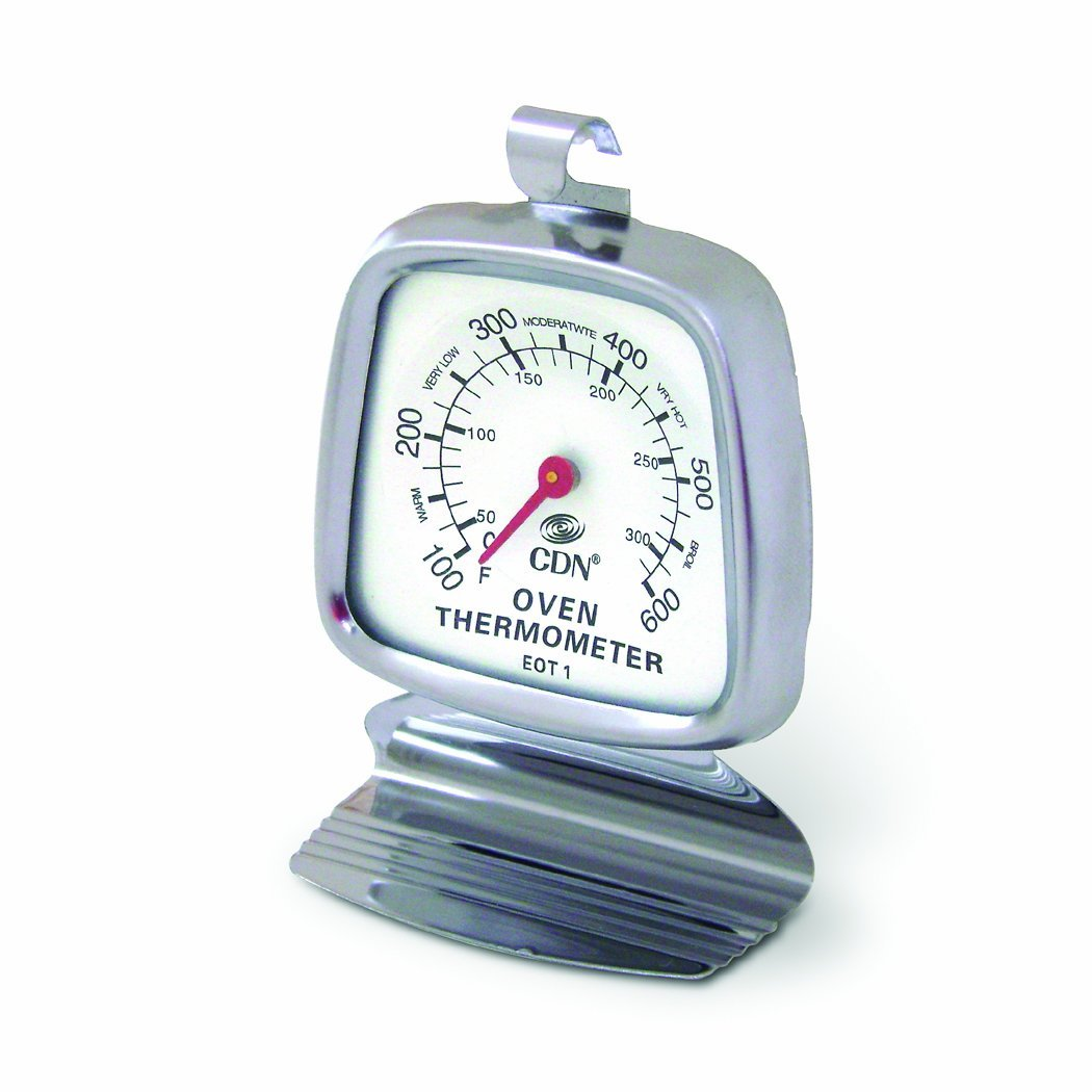 CDN High Heat Oven Thermometer Temperature Test Kitchen Easy To Read EOT1 by CDN