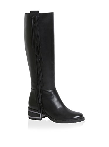 Carolina Espinosa Women's Darel Boot, Black Leather, 7.5 M US by Carolina Espinosa