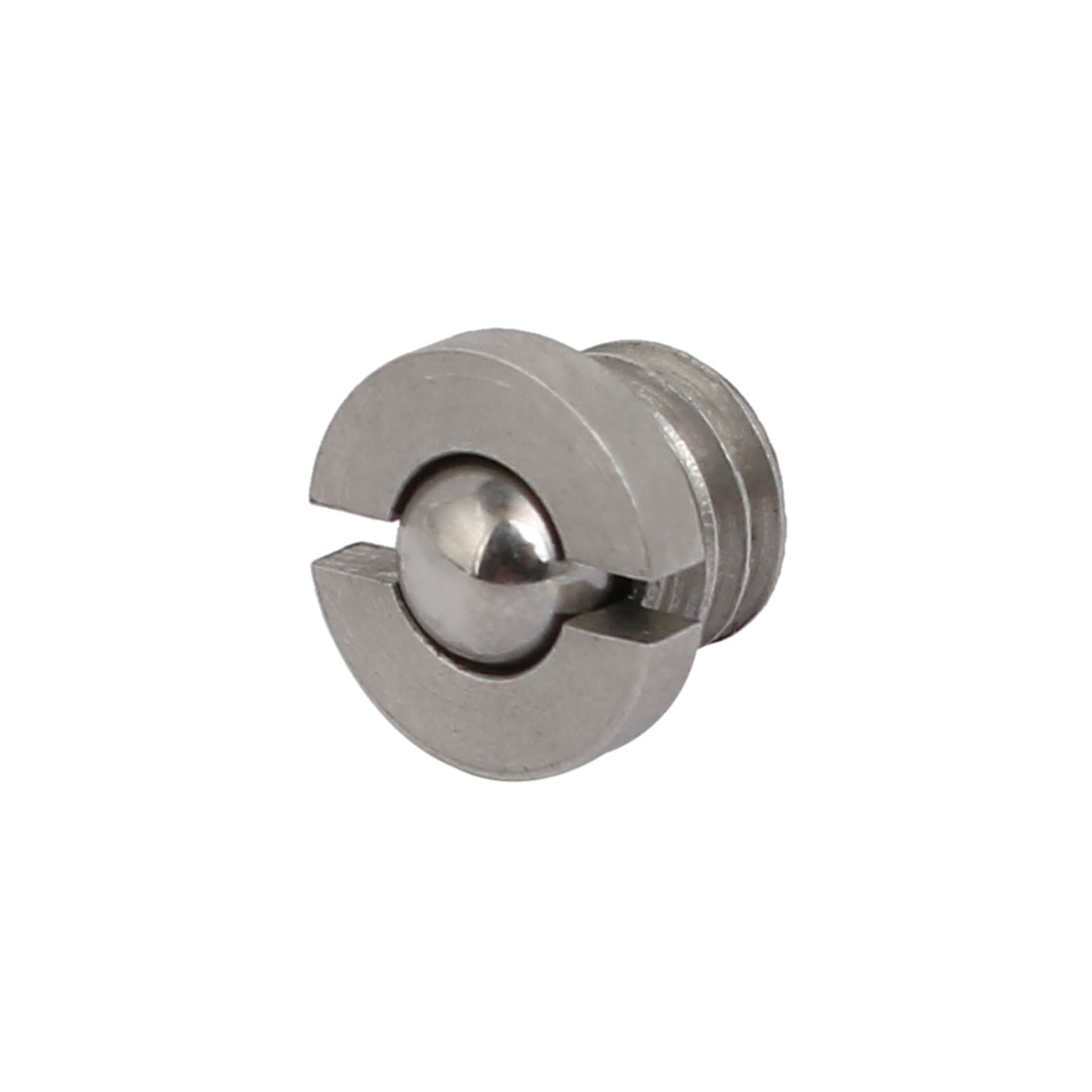 Unique Bargains 3Pcs Stainless Steel M6x4.5mm 6.3N End Force Slotted Flange Ball Spring Plunger - image 4 of 4