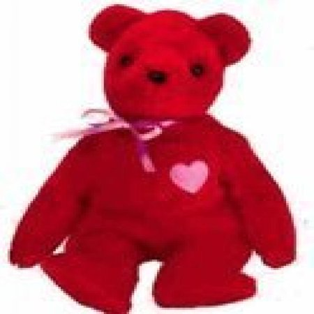 Ty Beanie Babies KISS-e - Valentine's Bear (Ty Store Exclusive) (Snuggle Bear Store)