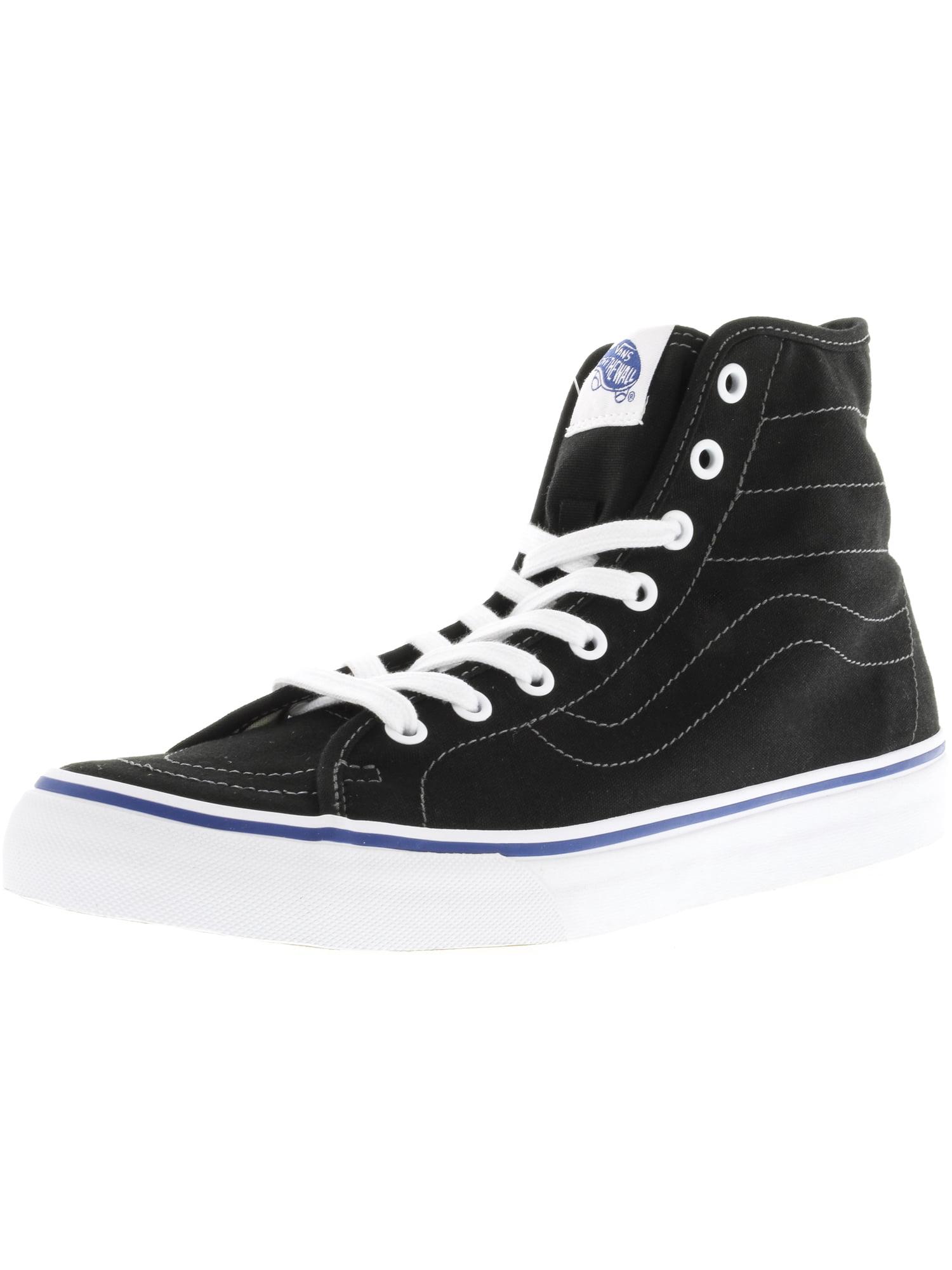 d700f33684 Vans Sk8-Hi Decon Canvas Black   True White Ankle-High Fashion ...