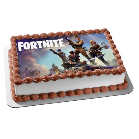 Fortnite Battle Royale Berserker Bullet Storm Centurion Cobalt Commando Commando Demolisher Double Agent First Shot Edible Cake Topper Image (Bachelor Cake Topper)