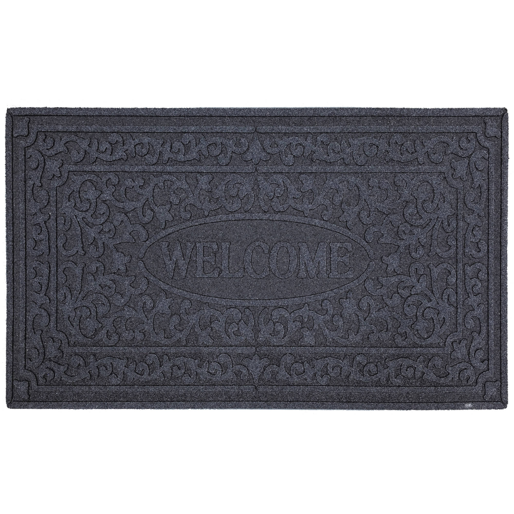 Ordinaire Mohawk Home Recycled Rubber Door Mat, St. Croix, ...