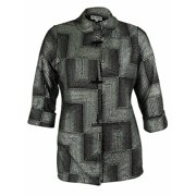 JM Collection Women's Toggle Front Jacket
