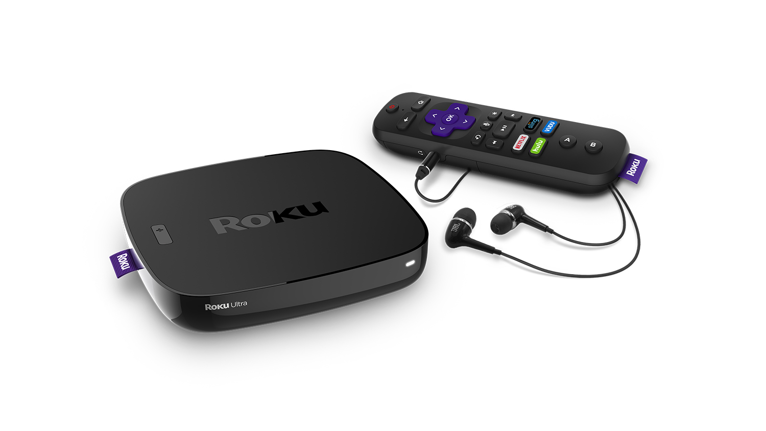 Roku Ultra 4K HDR Streaming Player (2018) with JBL