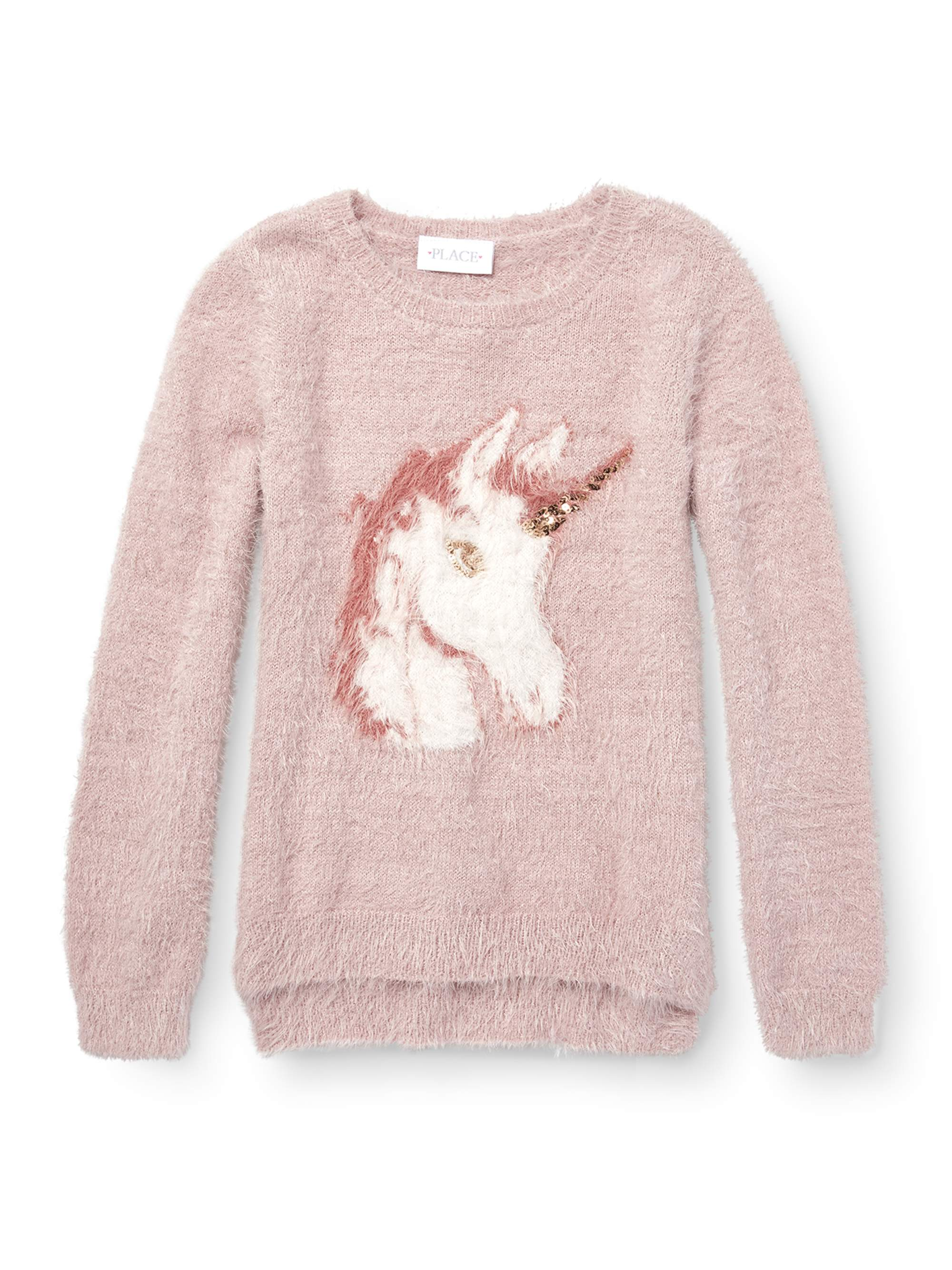 Unicorn Eyelash Pullover Sweater