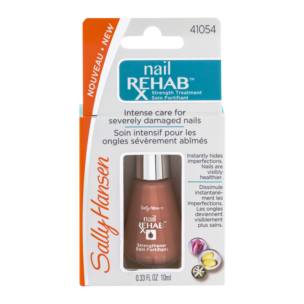 Sally Hansen Nail Rehab Strength Treatment, 0.33 FL OZ