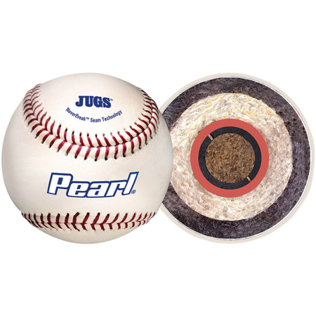 Jugs Sports Pearl Pitching Machine Baseball (Dozen)