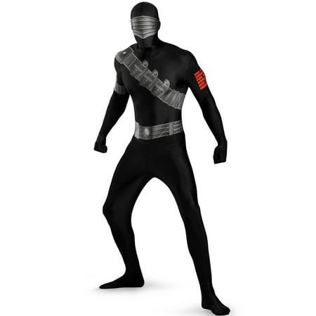 Skinovations Snake Eyes Bodysuit Adult Costume