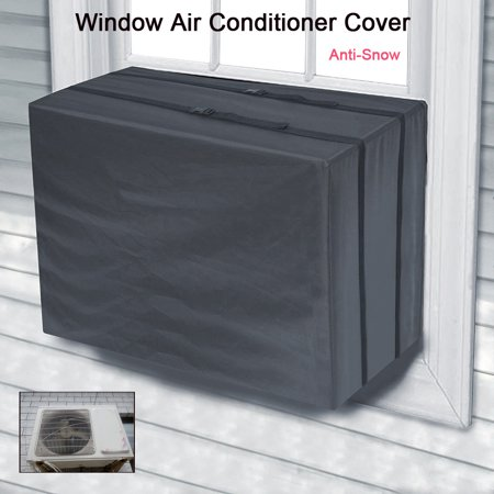 Window Air Conditioner Cover For Air Conditioner Outdoor Unit Anti-Snow ()
