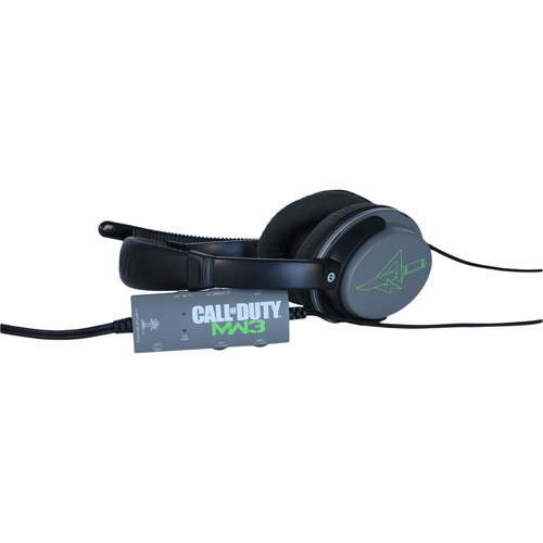 Turtle Beach Call of Duty: MW3 Ear Force Foxtrot - Headset - full size - wired - for Xbox 360, Xbox 360 S; Sony PlayStation 3, Sony PlayStation 3 Slim