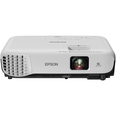 Epson VS355 LCD Projector - 16:10 - 1280 x 800 - Rear, Ceiling, Front - 6000 Hour Normal Mode - 10000 Hour Economy Mode - WXGA - 15,000:1 - 3300 lm