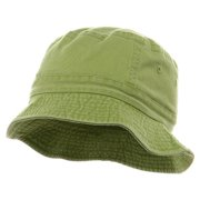 Youth Pigment Dyed Bucket Hat, Apple Green