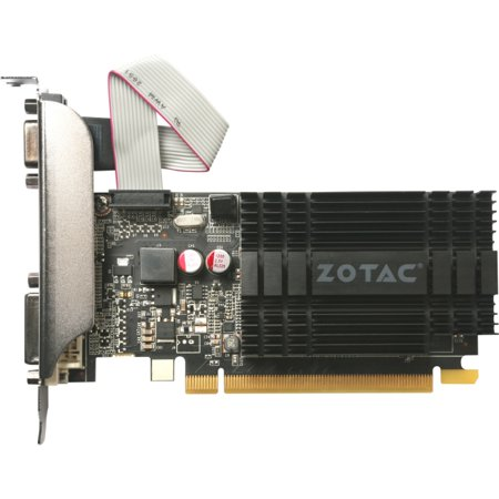 Zotac GeForce GT 710 954 MHz Core 1GB DDR3 PCI Express 2.0 Graphic Card
