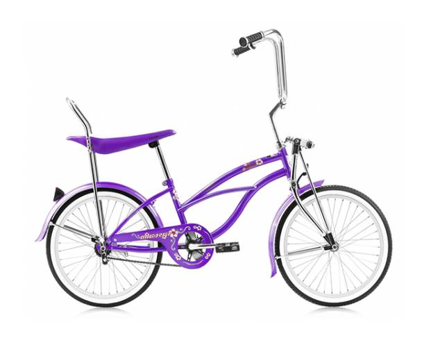 Hero 20 in. Beach Cruiser Bicycle in Purple by Micargi Industries